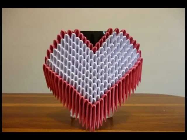 Corazon Origami 3D