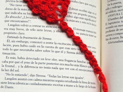 Crochet : Marcador de Libros # 2