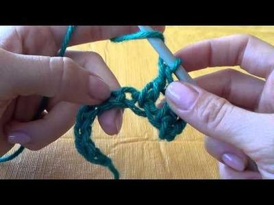 Crochet: Punto Alto, Punto Vareta (Double Crochet)