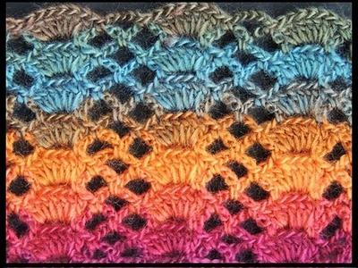 Crochet : Punto Fantasía # 14