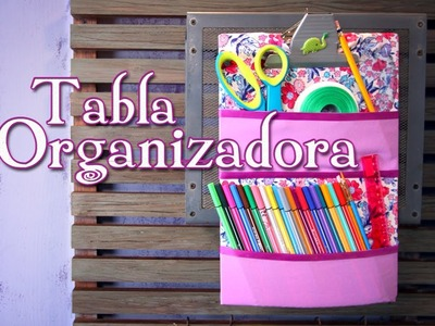 De tabla con clip a organizador - Episodio 7: Crafting Studio