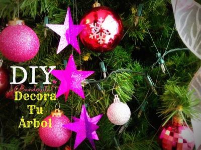 Decora tu Árbol de Navidad Tutorial DIY