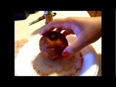 DIY #1 - Como hacer manzanas cubiertas de tamarindo!