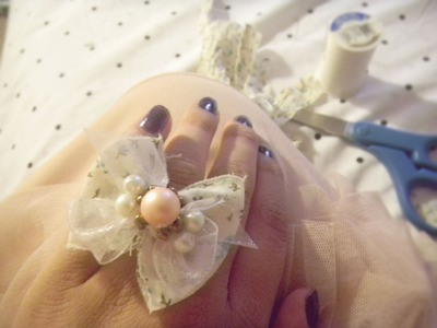 DIY♡ Anillo & collar de lazo! :)
