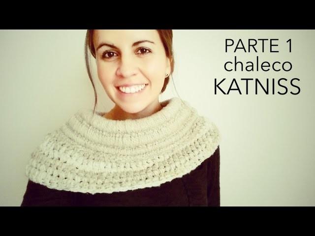 DIY - Chaleco Asimétrico a Crochet inspirado en Katniss Everdeen - Juegos del Hambre - Parte 1 de 2