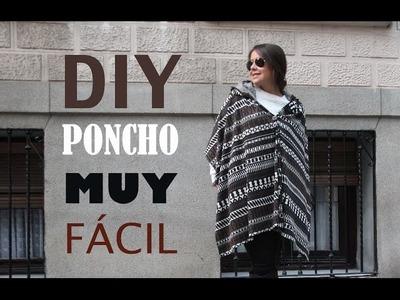 DIY Como hacer el poncho más fácil del mundo