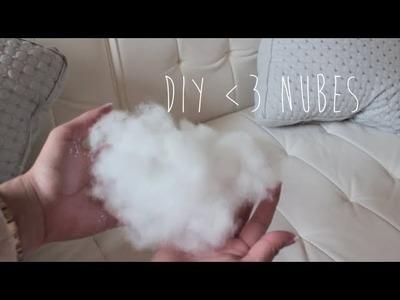 DIY♡ Nubes en tu habitación!