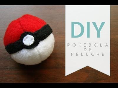 [DIY] Tutorial - Como hacer una pokebola de peluche !