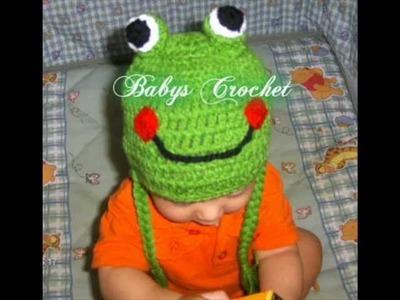 Gorros a crochet