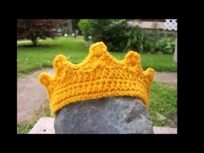 Ideas para hacer corona de princesa a crochet