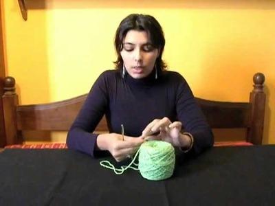 Iniciación al Tejido a Crochet - Parte 3 (Puntos Básicos)