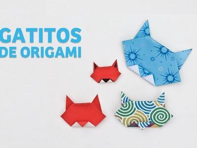 Lindos Gatitos De Origami