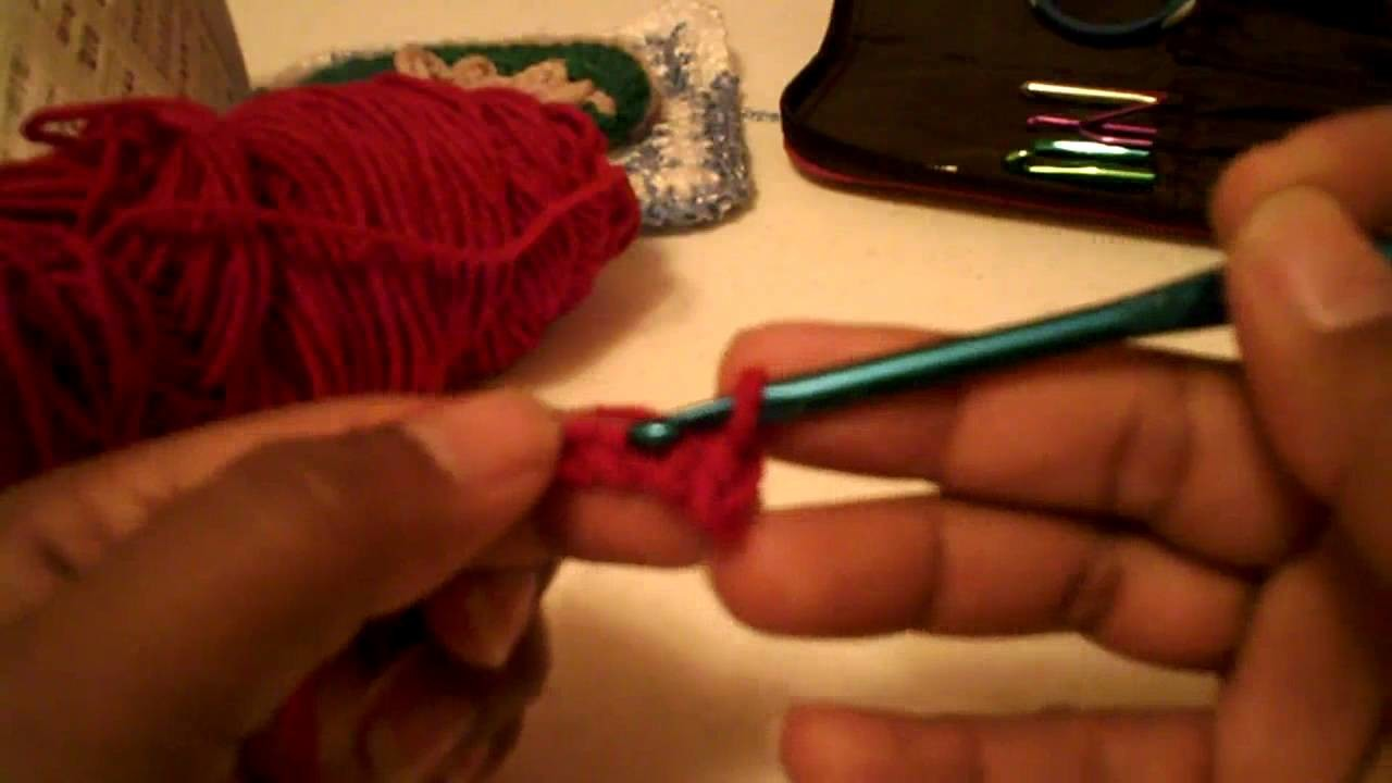 Lineas de medio punto para cintos o bufandas -Tutorial de tejido crochet
