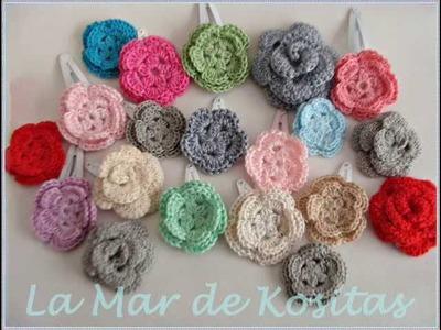 Mis Kositas hechas en ganchillo o crochet