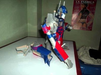 Optimus Prime de Papercraft