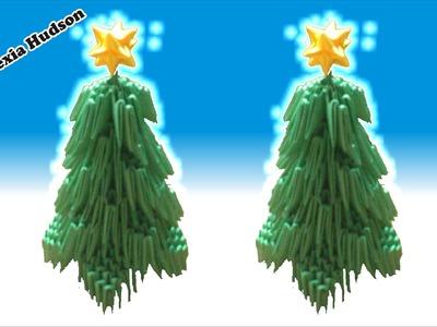 Origami 3D Arbol de Navidad (Especial de Navidad)
