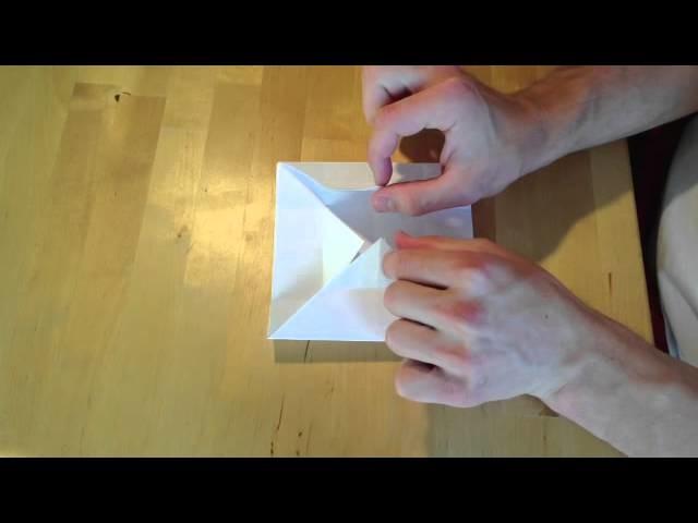 Origami: Cajita de papel - cómo hacer una cajita de papel para bombones