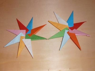 #Origami - Estrella 8 puntas