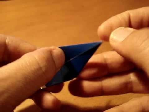 Origami Tutorial Colibrí Hummingbird Beija-flor Picaflor Chupaflor #2
