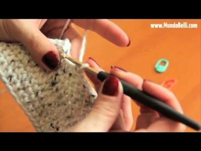 Pantufla Bota Crochet 2 de 8