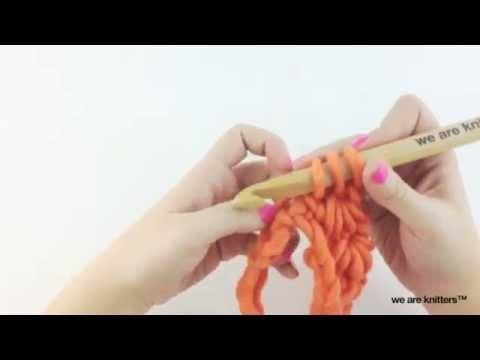 Punto estrella - Aprende crochet