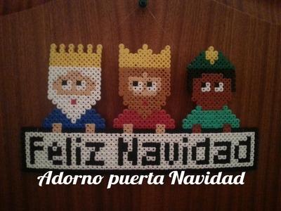 Reyes Magos de Hama Beads - Perler Beads