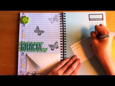 Scrapbook Pages: cómo hacer una página para diario de scrap *22·08·2014*