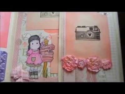 SCRAPBOOK PARA PATRICIA (Album de fotos para niña)