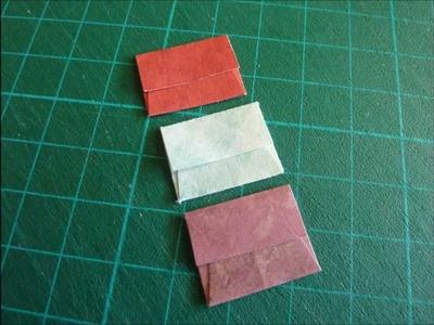 Scrapbook: Tutorial Mini Sobre para tarjeta ♥ *