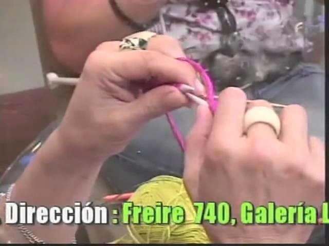 Tejidos con Luz Araneda Puntos a crochet