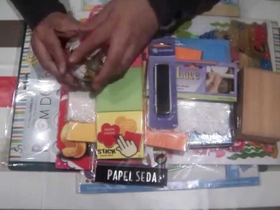Tips scrapbooking: adornos baratos para nuestros proyectos, 2º parte.Scrapbook haul.