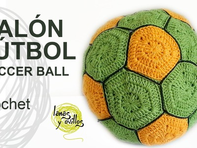 Tutorial Balón Fútbol Crochet o Ganchillo Ball Pelota