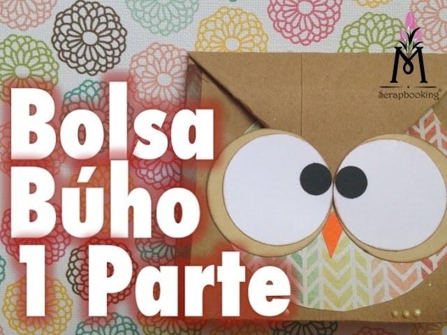 TUTORIAL Cómo hacer una bolsa de Búho.How to make an Owl gift bag