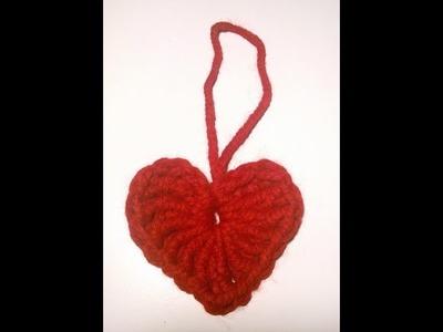 Tutorial Corazón a crochet paso a paso