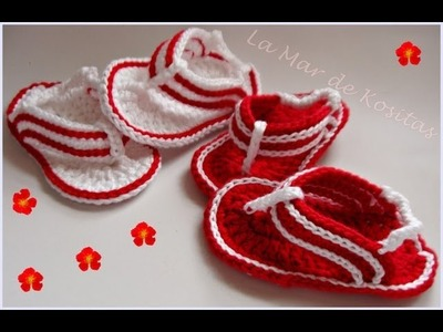 TUTORIAL SANDALIAS CROCHET