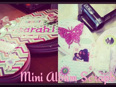 Mini Album Scrapbook para Niña ♥ Hadas ♥ Fairy