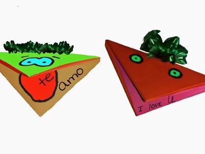 Tarjeta Títere en Origami - ChispiKids - Manualidades para niños