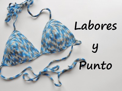 Aprende  tejer un bikini a ganchillo o crochet