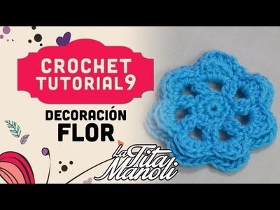 Crochet - Flor (Crochet Figuras)