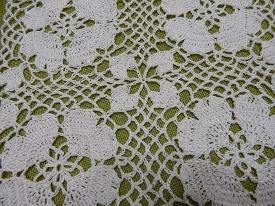 Petalos de Corazon Crochet
