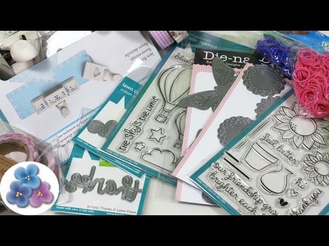 Scrapbook: Compras de este verano Sellos Troqueles Washi Tapes Gomitas Pintura Facil
