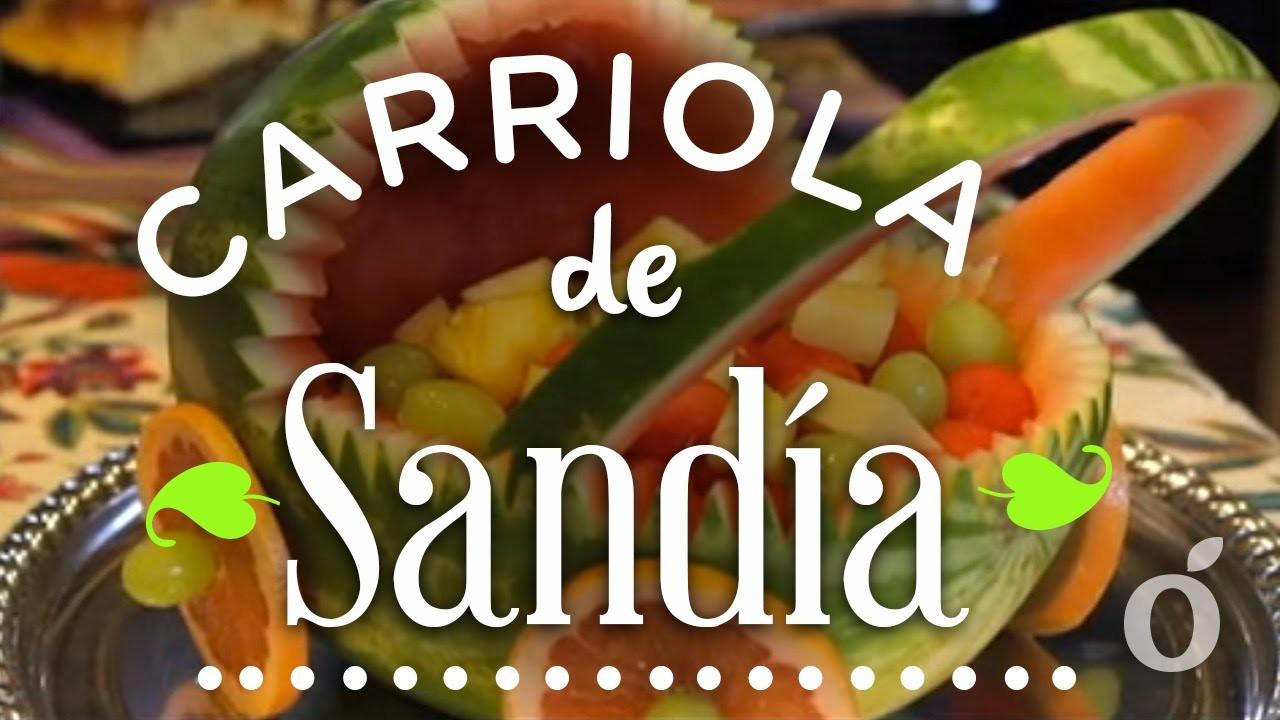 Carriola de Sandía