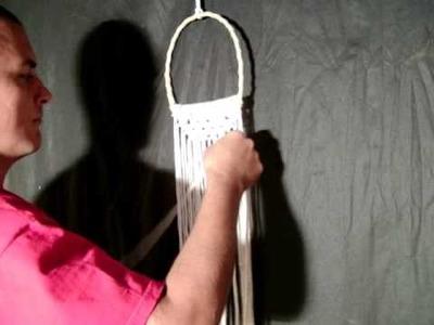Cartera de Macrame  Nº3 ArtesaniasChaco Macrame