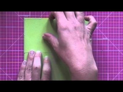 Cómo hacer la estructura de la never ending card. Tutorial