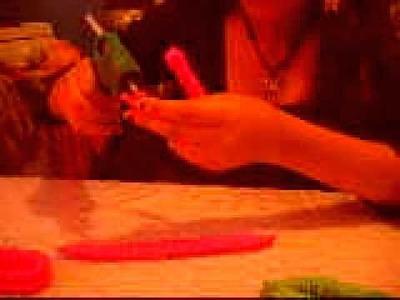 Como hacer una flor de papel crepe