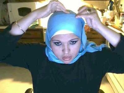 Como ponerse el velo o pañuelo o hijab