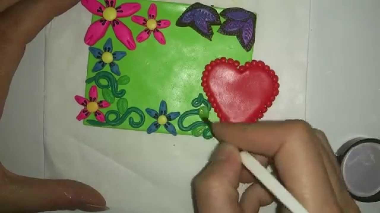 Placa Dia de la Madre ( Arcilla Polimérica ) -TUTORIAL-