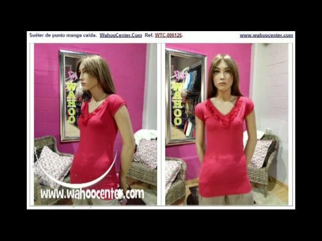 Prendas de Punto. Tricot  para Mujer: Colección WahooCenter.Com - Julio 2012