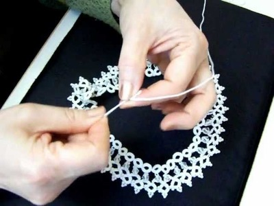 Primer tutorial de Collar Frivolité. MOV