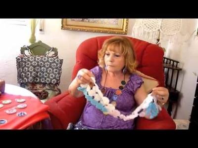 Rosa Delgado presenta su colección de pendientes reciclados de cápsulas de Nespresso